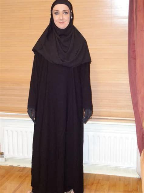 Jilbab Instan Hoodie Arabian size 62 black jilbab abaya niqab dress burqa veil kaftan muslim islam ebay