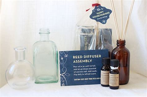 blog with the browns housewarming gifts diy reed diffuser housewarming gifts gift favor ideas
