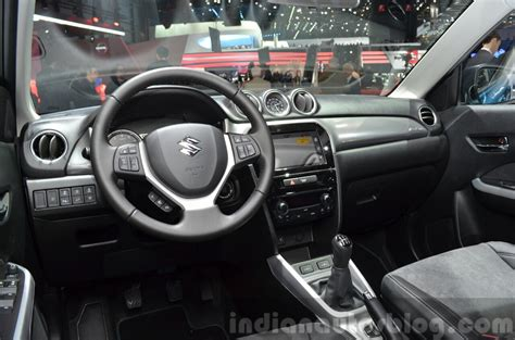 Suzuki Inside Suzuki Vitara Interior At The 2015 Geneva Motor Show