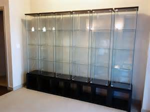 Ikea Display Cabinet Shelves One Dioder And Three Detolf Animefigures