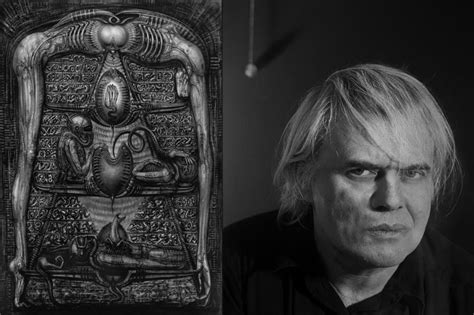 H R H h r giger and the biomechanical soul stuff to