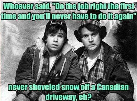 Canada Snow Meme - winter meme funny pictures quotes memes jokes