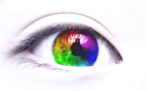 colorful eye eye color bokeh wallpaper 2560x1600 97552