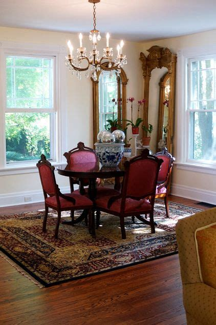 traditional dining room restoring   victorian