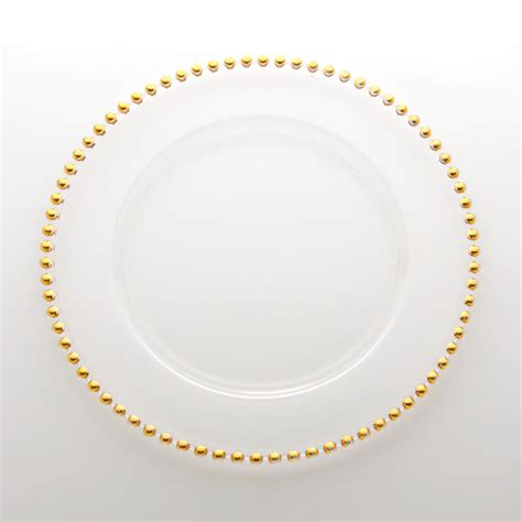 beaded plate chargers atlas rental belmont gold beaded charger plate