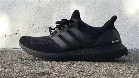Adidas Ultraboost All Black adidas ultra boost blackout adidastrainersuk ru