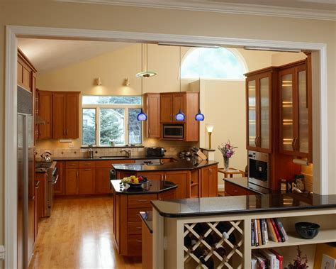 Kitchen Countertops Syracuse Ny by Rich Warm Colors On The Walls Cherry Cabinets And