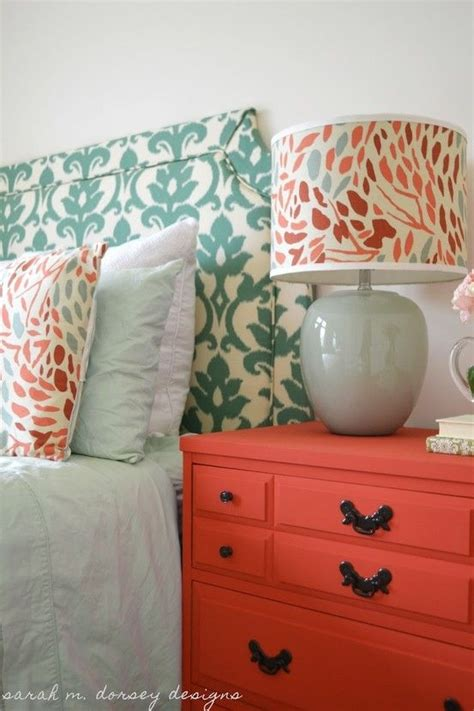 coral bedroom color schemes bedroom color scheme coral and blue for room in the