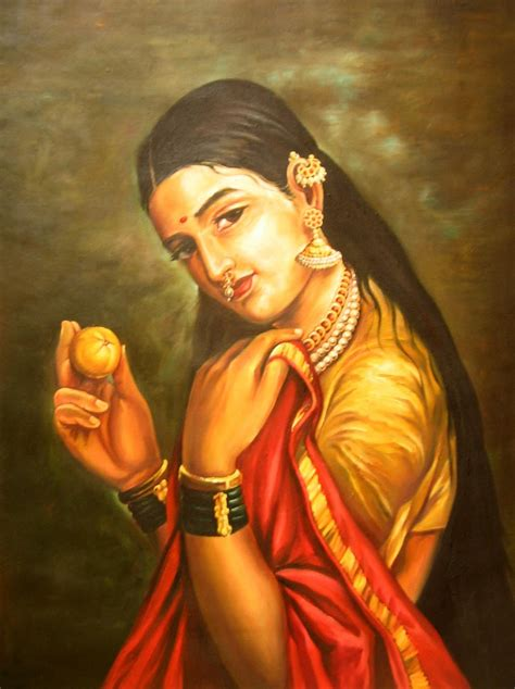 My Dreams Raja Ravi Varma Arts Indian Paintings