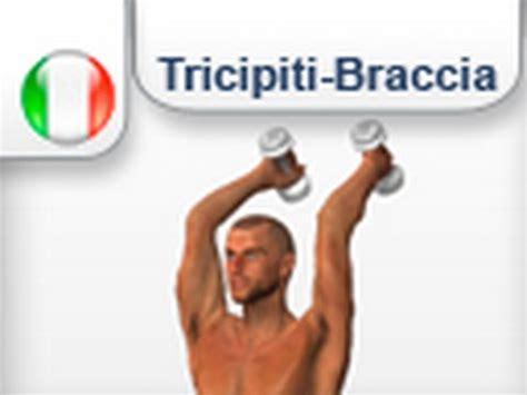 fare pesi a casa press con mabubri pesi esercizi muscoli tricipiti
