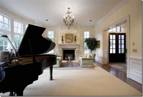 piano in living room baby grand piano in living room music time pinterest