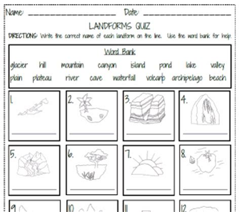 printable art test social studies globes maps land forms common core