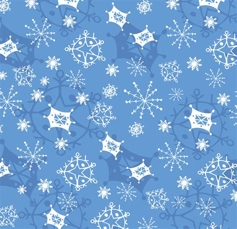 snowflake motif pattern winter abbydora design