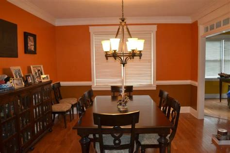 dining room after top behr tiger stripe bottom behr caramel latte dining room color