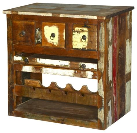reclaimed wood graffiti wine cabinet whitney rustic reclaimed wood wine bar cabinet eclectic