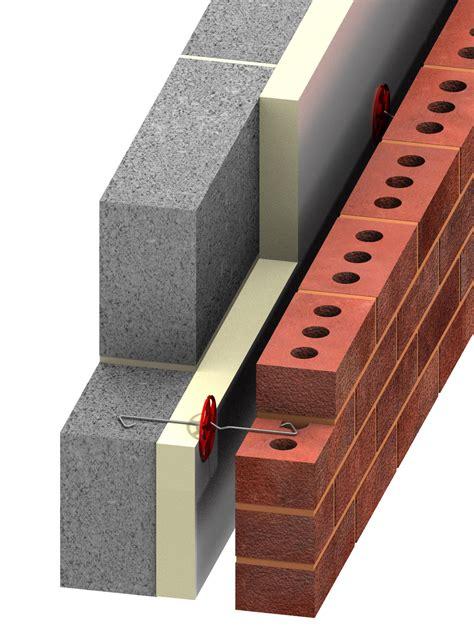 Cavity Wall Insulation Types Uk - ancon staifix masonry wall timber frame ties restraint