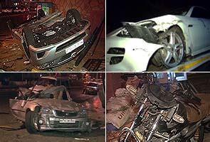 mumbai car crash two crashes on mumbai roads one dead