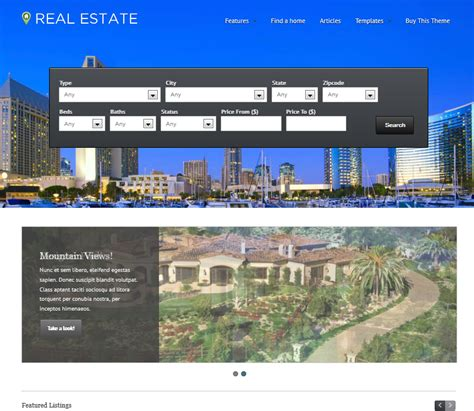 wp pro real estate 4 responsive theme for