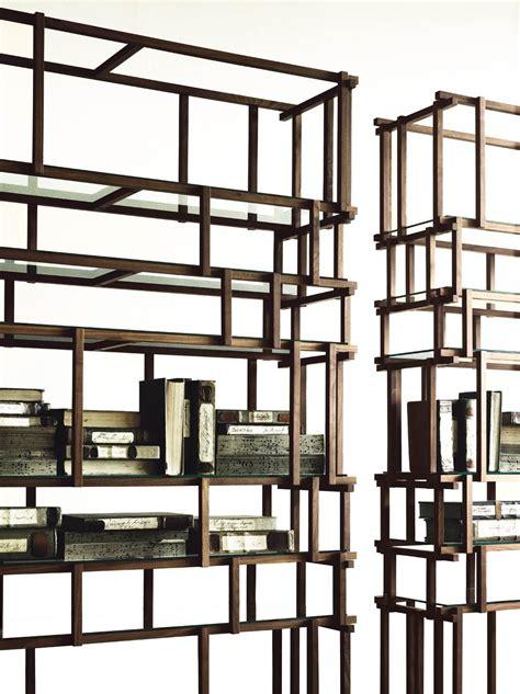 libreria divisoria libreria divisoria in legno cut by living divani