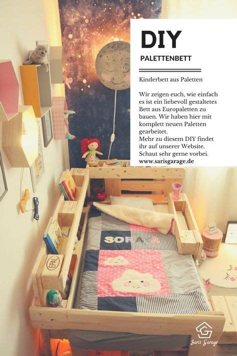 kinderbett do it yourself ᐅ palettenbett f 252 r kinder kinderbett aus europaletten