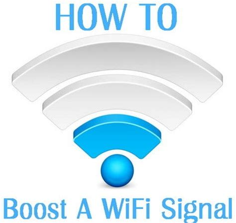 how to easily boost and improve the wifi signal