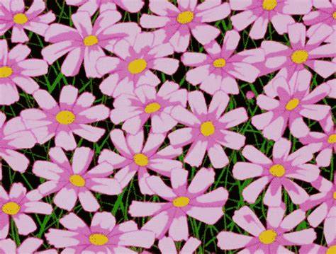 weird pattern gif pink flower gifs find share on giphy