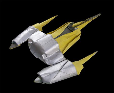 Origami Vulture Droid - wars origami