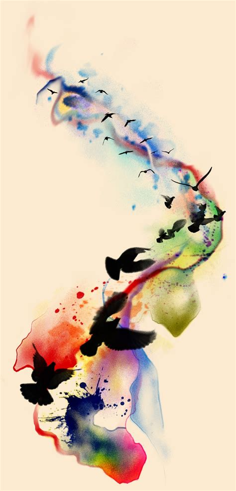 watercolor bird tattoo design watercolor birds by badfish1111 on deviantart