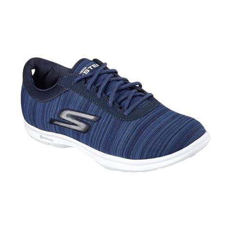 Sepatu Skechers Wanita jual skechers go step lace up s shoes sepatu olahraga wanita 14203nvw harga