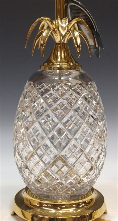 Waterford Pineapple L by 353 Large Waterford Pineapple Table L Lot 353