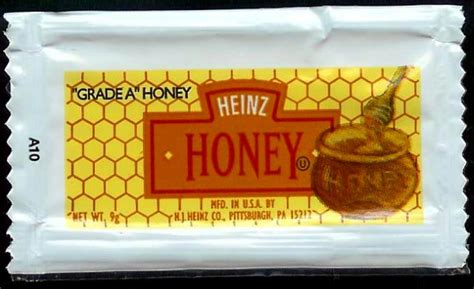 Condiment Packet Gallery by Heinz Honey