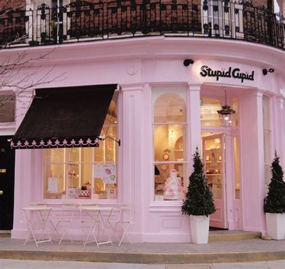 coffee shop design pink nona s storefront bakery bakery pinterest mint green