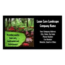 lawn care business cards plush green landscape lawn care business sided