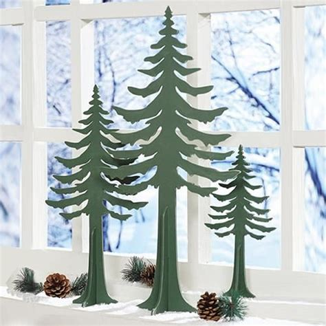 wooden cut out trees wood christmas tree cutout at rocky