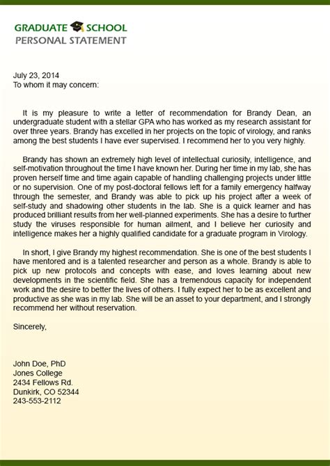 Excellent Recommendation Letter For College How To Write An Excellent Letter Of Recommendation Best Ideas Of A Recommendation