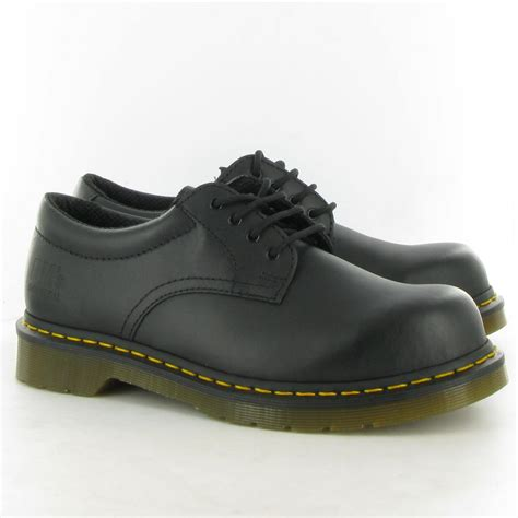 steel toe shoes for dr martens 2215 steel toe shoe in black