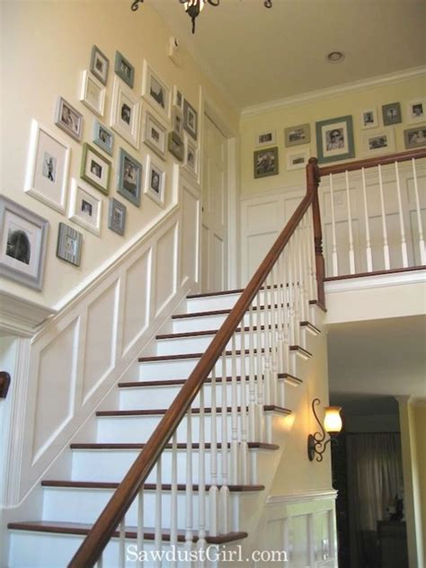 Ideas For Staircase Walls Staircase Wall Decorating Ideas Traditional Staircase Other Metro By Stairs Designs