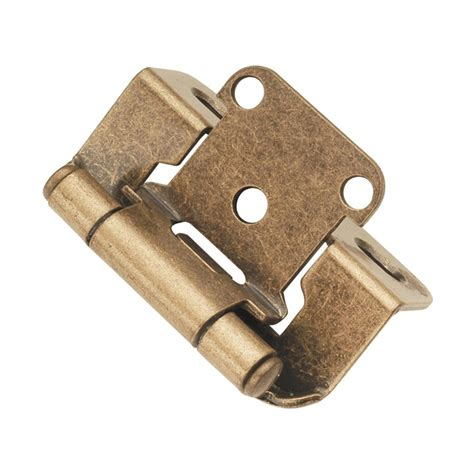 wrap cabinet hinges hickory hardware partial wrap 1 2 quot overlay hinge pair