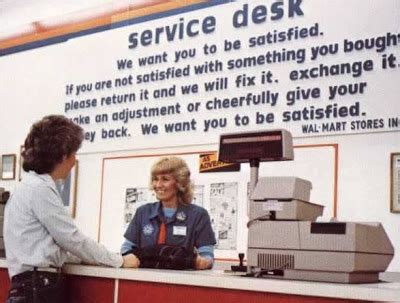 walmart customer service desk pleasant family shopping it s a wal mart world out there