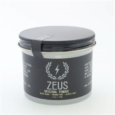 Pomade Inspired zeus original pomade the beard emporium