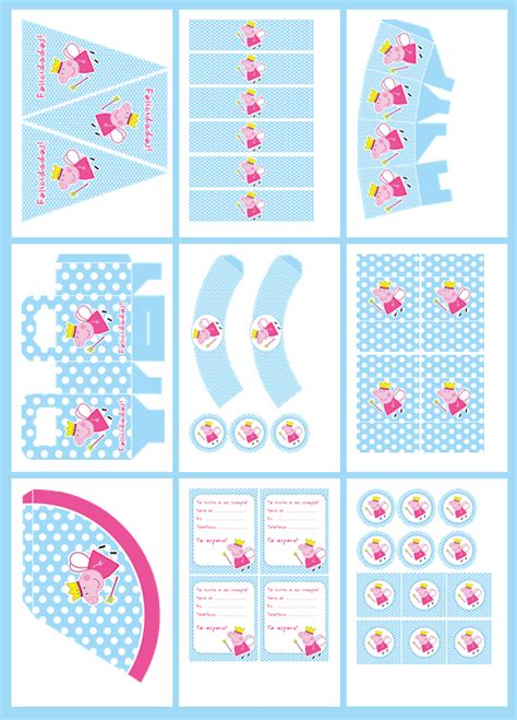 peppa pig printable birthday decorations free printable peppa pig party invitations ideas