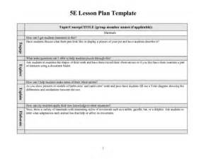 5e Lesson Plan Template For Science 5e lesson plan template mammals 2nd 3rd grade lesson plan lesson planet