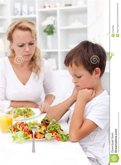 will not eat i will definitely not eat that rabbit food royalty free stock photo image 21922385