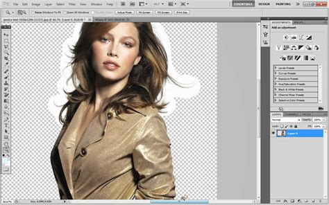 photoshop cs5 tutorial remove background hair adobe photoshop cs5 how to remove the background of an