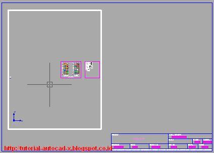 tutorial gambar autocad prinsip cara melakukan layout gambar di autocad tutorial