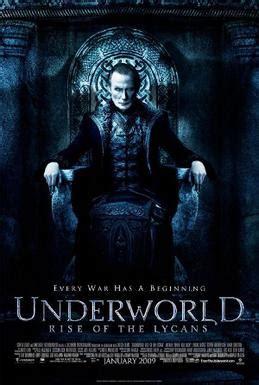 underworld film horror del 1985 underworld rise of the lycans wikipedia