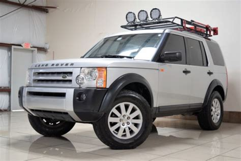 custom land rover lr3 salae25485a323686 custom land rover lr3 lifted 3rd row