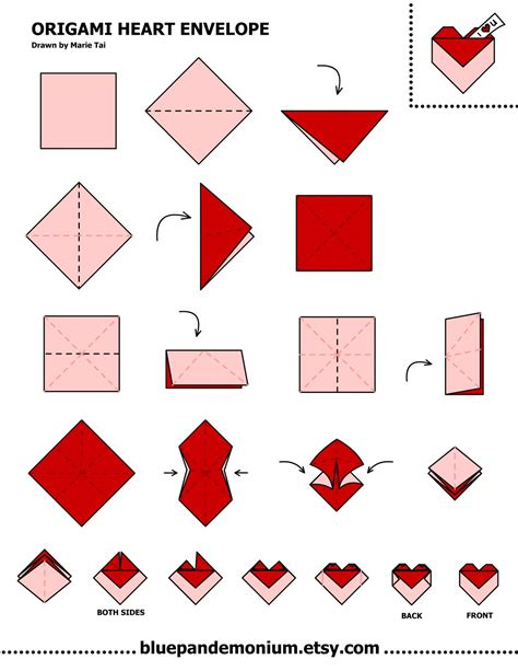 how to fold origami envelope theboredomofmine