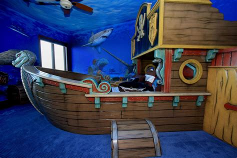 Jason Hulfish Design Studio Pirate Ship Bed