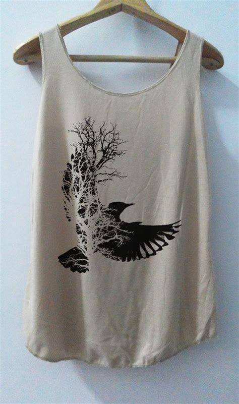 Embro Top B L F bird shirt animal shirt shirt tank top t